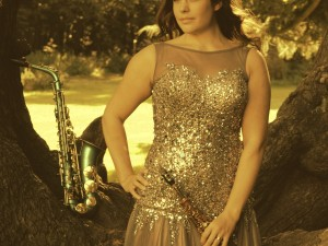 Lucy Harvery Saxophonist