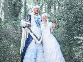 Snow King and Queen