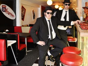 Blues Brothers tribute duo