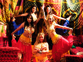 Professional Bollywood Dance Troupe Hire