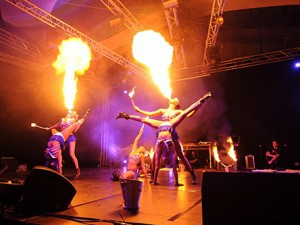fire show hire