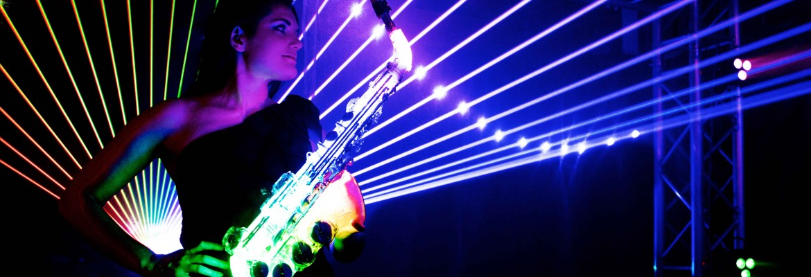 LED Saxophonist