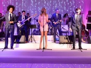 luxury corporate party band hire
