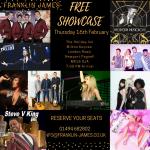 franklin james showcase 16th feb milton keynes