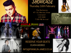entertainment showcase 26th Jan