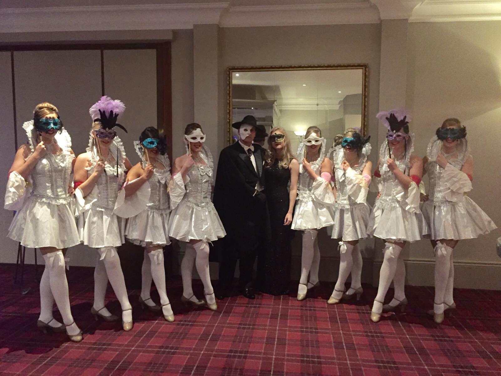 masquerade theme show
