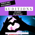 FRANKLIN JAMES AUDITIONS