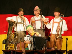 bavarian theme band hire