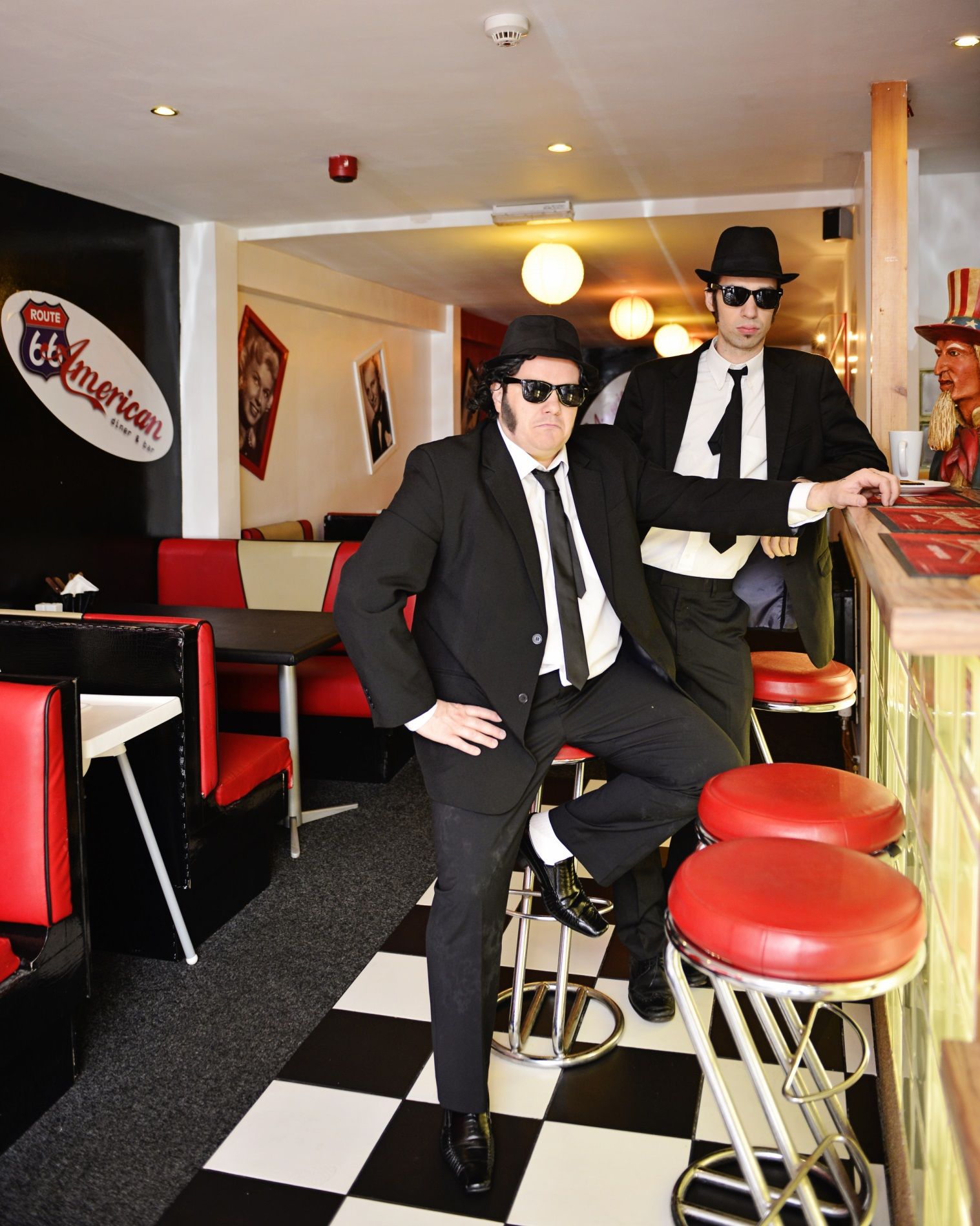 Blues Brothers Be Loose Small