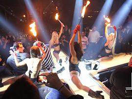 Fire Show Dance troupe