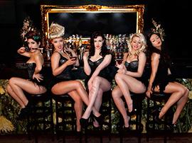 Burlesque Show Dancers