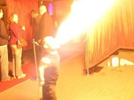 Fire Breathing Dwarf Entertainers