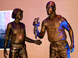 Olympic Living Statues