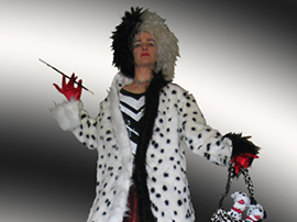 Cruella Devil Stilt Walker