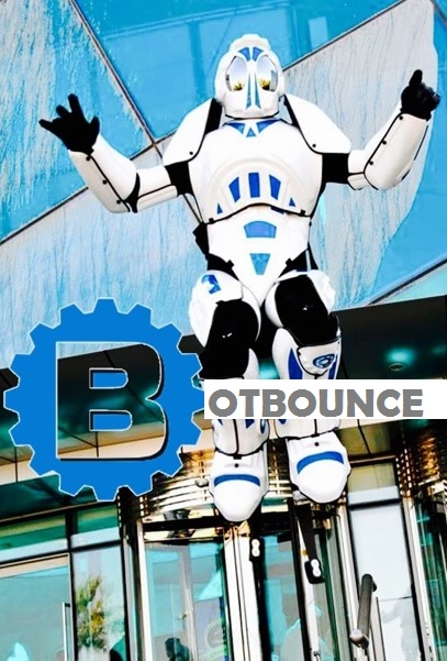 robot bounce act