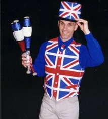 British Theme Juggler