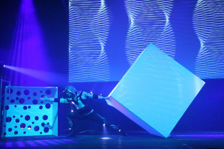 Lighting Cube Show