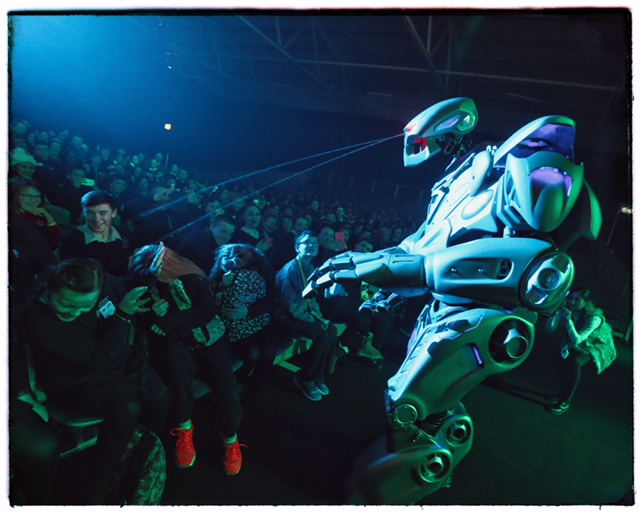 Titan The Robot Live