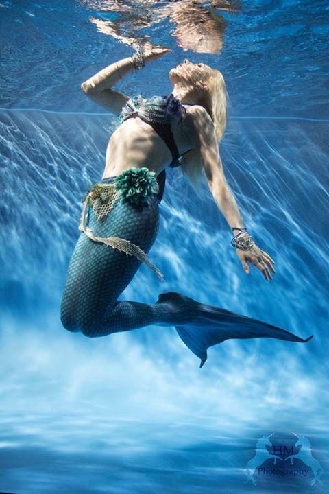 Mermaid water entertainer