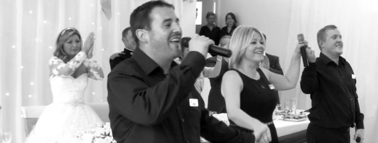 A-Z of Hiring surprise singing Waiters, Chefs and Guests.