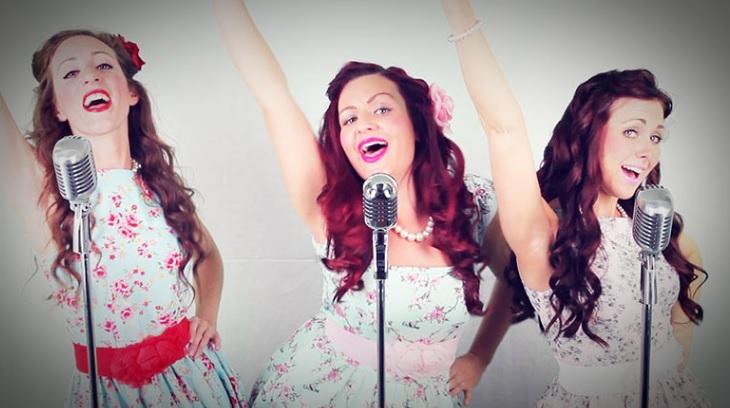 Rosy Belles Vintage Trio