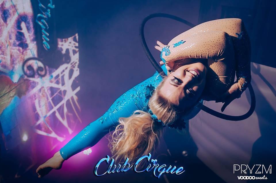 aerial hoop performer hire