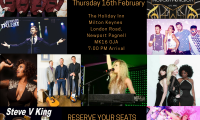 Franklin James Entertainment Showcase Milton Keynes 16th February