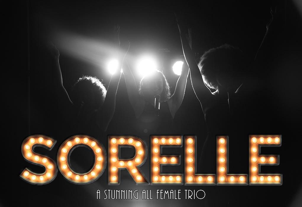 sorelle female trio to hire
