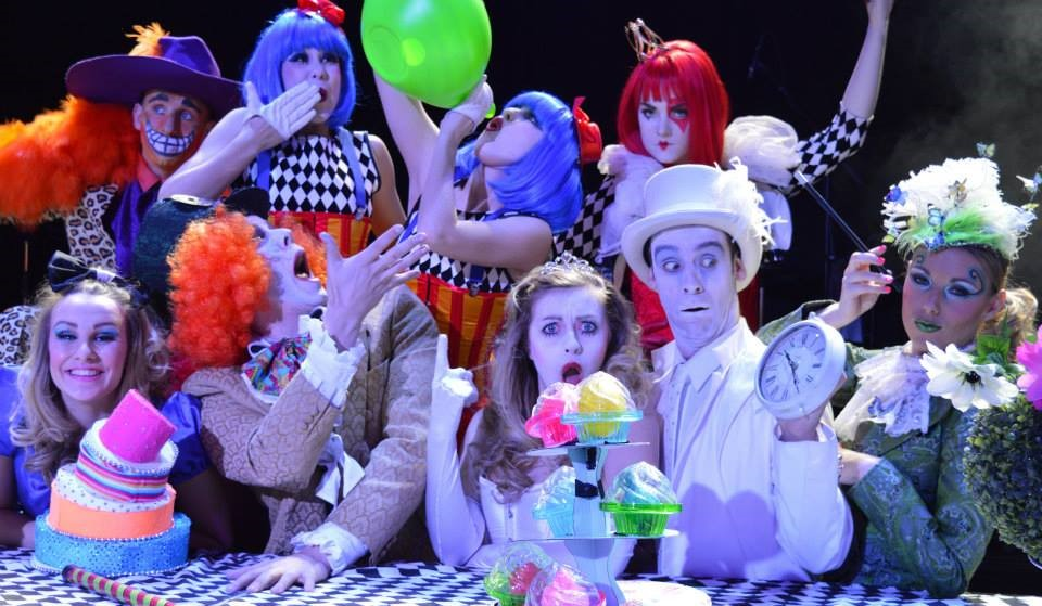 Alice in Wonderland Theme show
