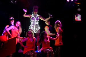 led dance vocal show